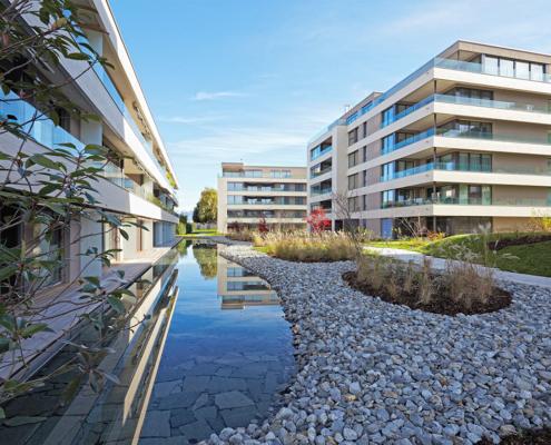 Projet réalisé par l'entreprise R-éal Suisse SA, promoteurs et développeurs immobiliers vaudois
