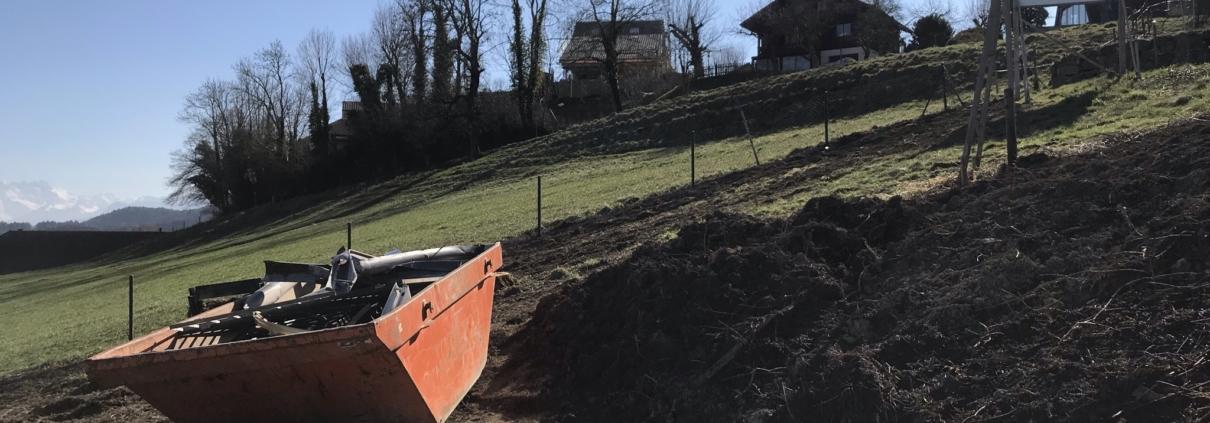 Dent-de-Lys, nouveau projet immobilier à Granges- début des travaux